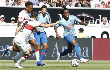 Atlético Madrid de Diego Simeone terminó igualando ante el Stuttgart