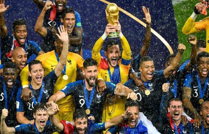 Selección de Francia (Foto: Twitter)