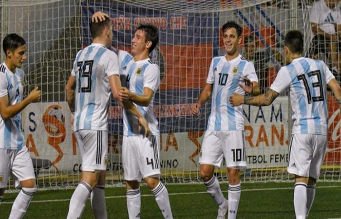 La Selección Argentina Sub 20 está en la final del torneo. Foto: Twitter