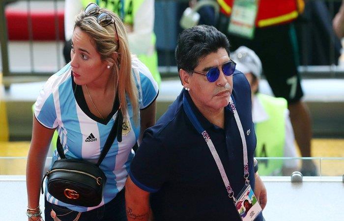 Diego Maradona: 'Me jode que algunos periodistas no me incluyan'