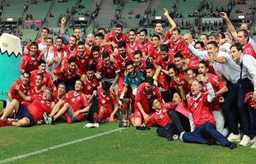 Racing felicitó a Independiente por lograr un nuevo título