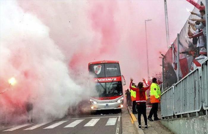 River Plate: la salida del Monumental fue una fiesta