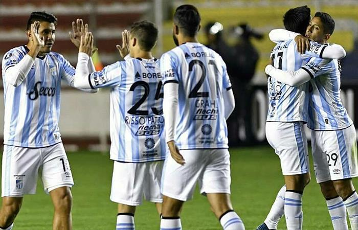 Atlético Tucumán derrotó 2-0 a Atlético Nacional (Foto: Twitter)