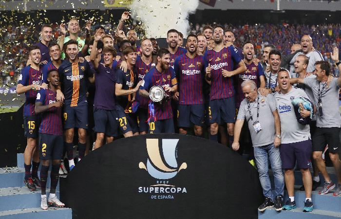 Barcelona venció 2-1 al Sevilla. Foto: EFE