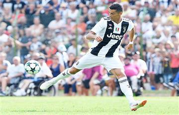 Cristiano Ronaldo y su primer gol con la Juventus