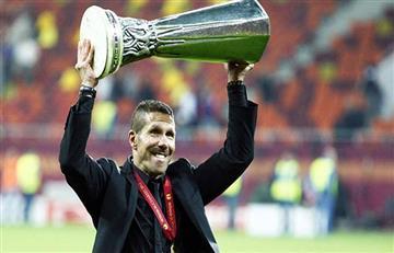 Diego Simeone y el recuerdo de su primera Supercopa de Europa