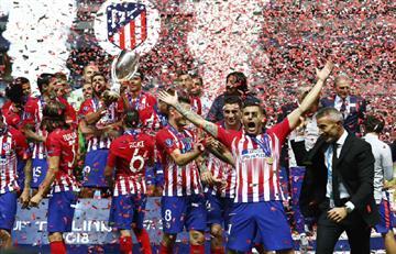 Atlético Madrid de Diego Simeone se convierte en el campeón de la Supercopa de Europa