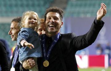 Diego Simeone, siete títulos en seis años y ocho meses