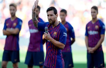 Lionel Messi y su mensaje antes de enfrentar a Boca Juniors