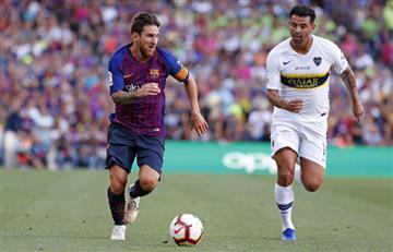 Barcelona de Lionel Messi acorta historial ante Boca Juniors