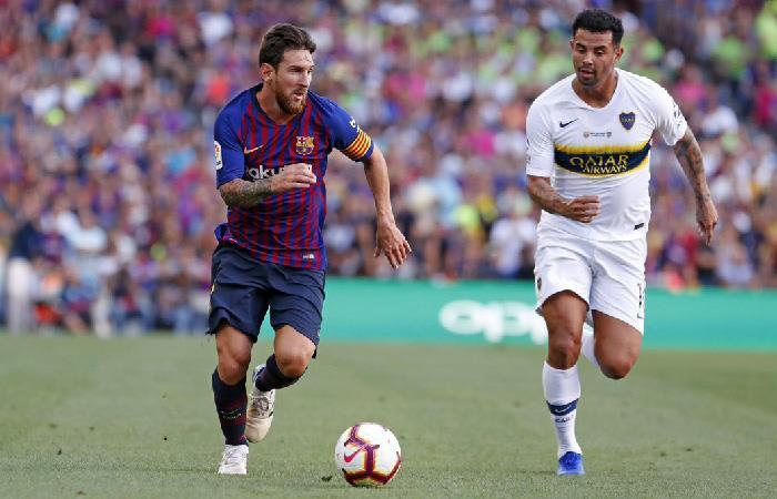 Barcelona vs Boca Juniors (Foto: Twitter)
