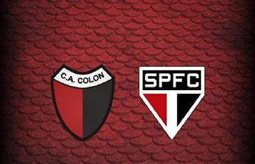 Colón vs Sao Paulo: EN VIVO ONLINE por la Copa Sudamericana