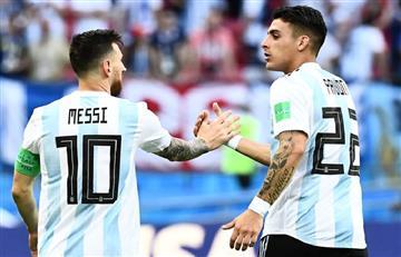 Cristian Pavón habló sobre la decisión de Lionel Messi de dejar la Selección Argentina