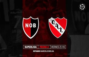 Newell's vs Independiente: EN VIVO ONLINE por la segunda fecha de la Superliga
