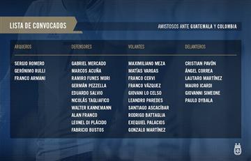 Selección Argentina: el posible once de Lionel Scaloni ante Guatemala y Colombia