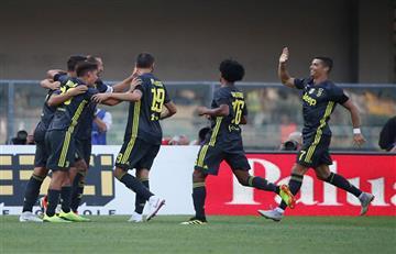 Cristiano Ronaldo debutó con triunfo en la Juventus