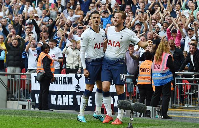 Erik Lamela jugó en el triunfo del Tottenham. (FOTO: EFE)