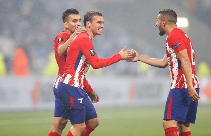Atlético de Madrid vs Valencia. Foto: Twitter