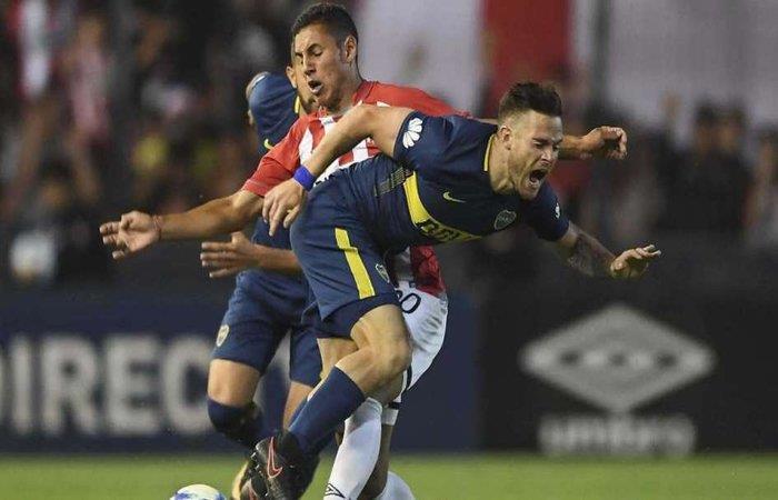 Estudiantes vs Boca Juniors. Foto: Twitter