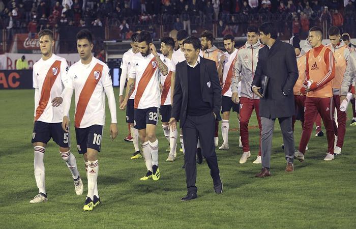 River Plate volvió a empatar sin goles. Foto: Twitter