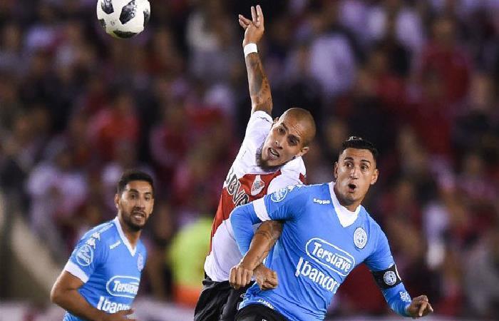 River Plate igualó 0-0 ante Belgrano. Foto: Twitter
