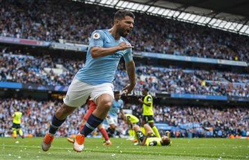 Sergio Agüero y un partido brillante para el Manchester City