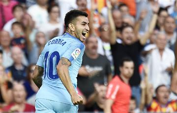 Atlético Madrid vs Valencia: mirá el gol de Ángel Correa