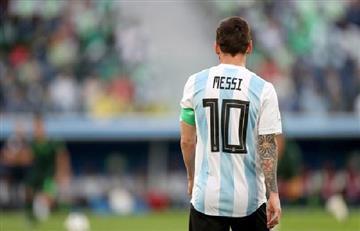¿Dónde está Lionel Messi?