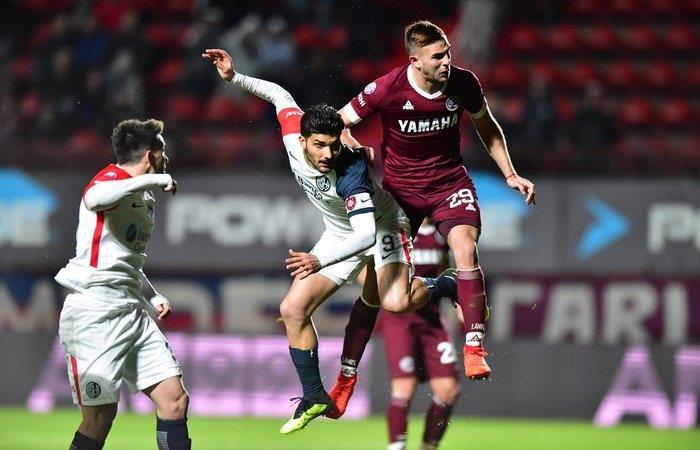 San Lorenzo igualó 2-2 ante Lanús. Foto: Twitter