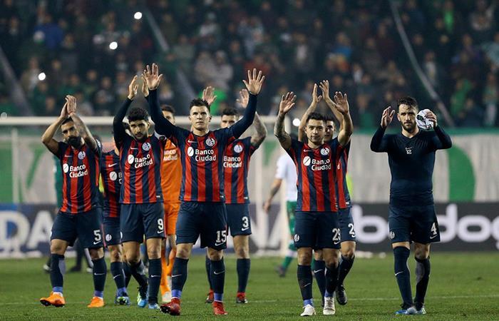 San Lorenzo busca ganar en la ida para viajar a Uruguay y conseguir un resultado positivo. (FOTO: Twitter)