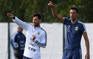 Selección Argentina: Lionel Scaloni habló de su charla con Lionel Messi