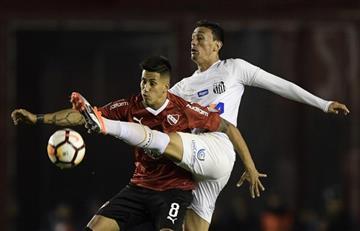 Independiente no pudo en casa ante Santos y la llave se mantiene abierta