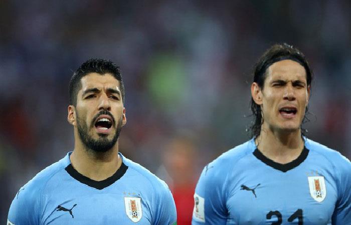 Selección de Uruguay. Foto: Twitter