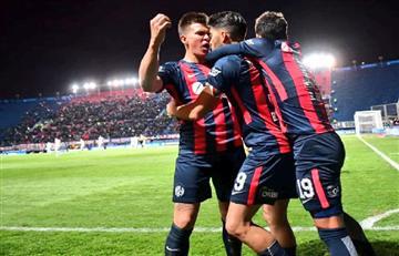 San Lorenzo queda cerca de los cuartos de final de la Copa Sudamericana