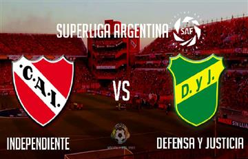 Independiente vs Defensa y Justicia: EN VIVO ONLINE por la tercera fecha de la Superliga