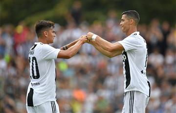 Juventus de Cristiano Ronaldo y Paulo Dybala vs Lazio EN VIVO ONLINE por la Serie A