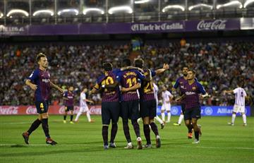 Barcelona de Lionel Messi vence al Valladolid en la segunda fecha de La Liga