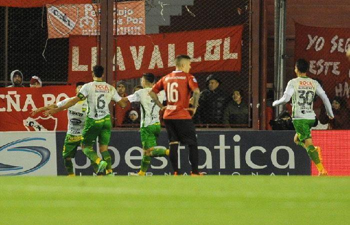 Defensa y Justicia venció por 1-0 a Independiente (Foto: Twitter)