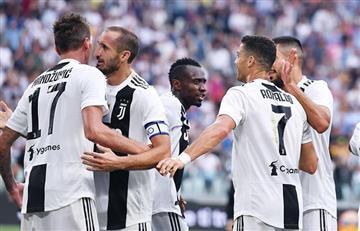 Los goles del triunfo de la Juventus ante la Lazio