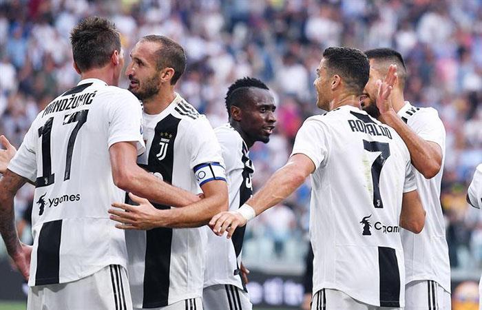 La Juventus volvió a ganar. Foto: EFE