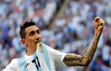 Ángel Di María le brindó su respaldo a Lionel Scaloni