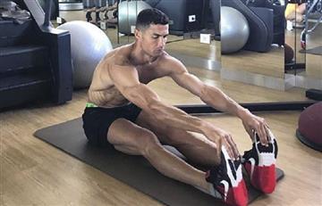 Cristiano Ronaldo impacta en Italia con su forma de entrenar