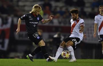 River Plate no pudo ante Argentinos Juniors y terminó igualando por la Superliga
