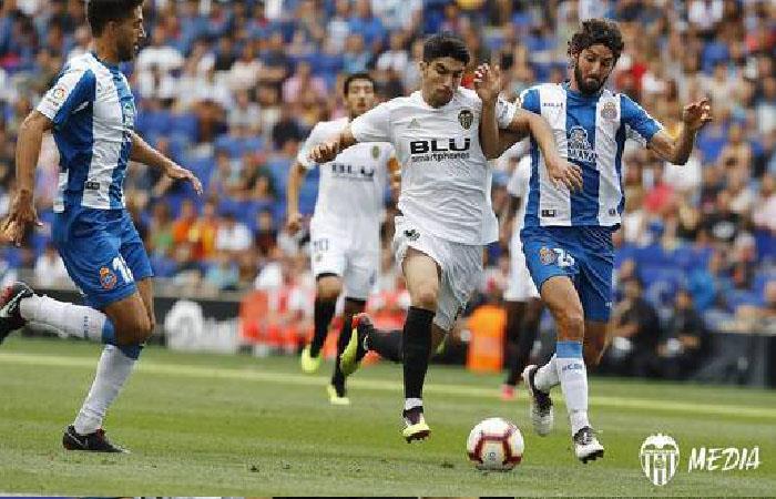 Valencia cae 0-2 ante el Espanyol. Foto: Twitter