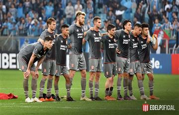 Estudiantes de La Plata cayó ante Gremio y fue eliminado de la Copa Libertadores