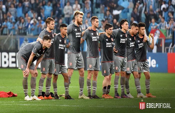 Estudiantes de La Plata no pudo ante Gremio. (FOTO: Twitter)