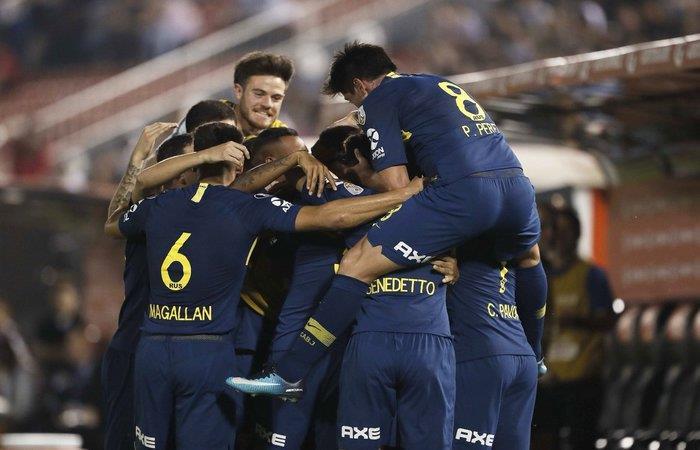 Boca Juniors venció 4-2 a Libertad. Foto: Twitter