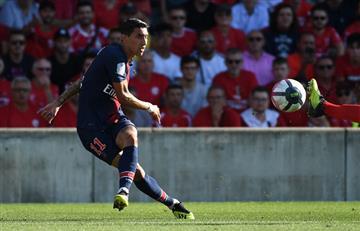 Mirá el golazo olímpico de Ángel Di María para el PSG