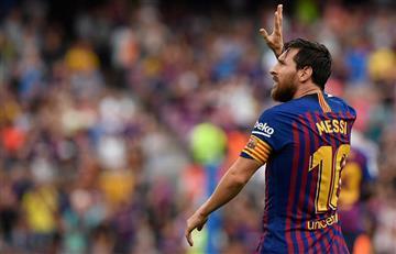 Lionel Messi, el goleador de La Liga en la tercera fecha