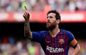 La 'Pulga' Messi quiere la Champions